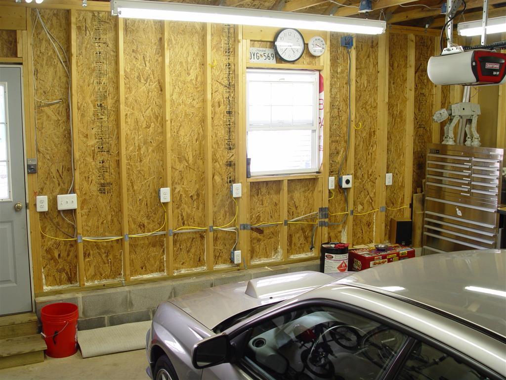 DSC08349 installing multiple fluorescent lights in garage garage designs
